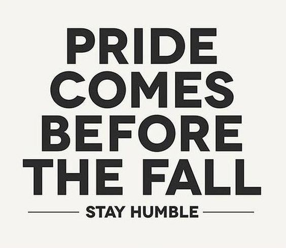 Pride And Humility Quote 1 Humility Quotes On Picturequotes Com Humility Quotes Pride Quotes Silence Quotes