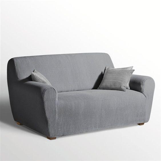 Housse extensible pour fauteuil et canapé, AHMIS La Redoute Interieurs 99.99 (soldée 25% le 13/02/16)