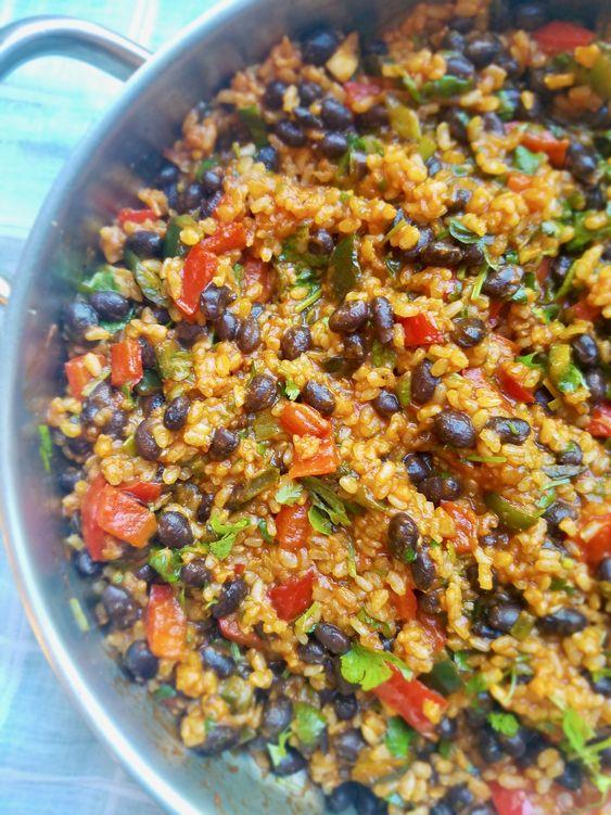 Ugly Vegan Kitchen  - Vegan Fiesta Rice
