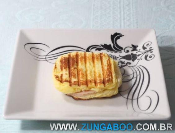Receita Panini Sem Farelos Dieta Dukan - Zungaboo