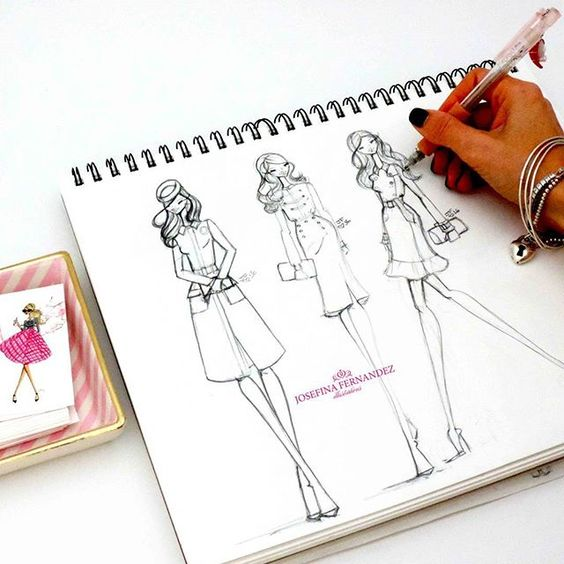 Sketching my favorite Kate Middleton outfits.  #duchessofcambridge