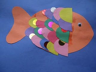 rainbow fish craft  cute octopus craft from bottle