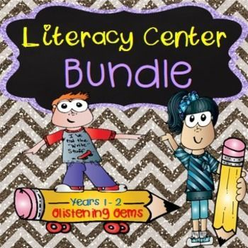 Literacy Centers  - BundleThis Literacy Center Bundle Pack includes 6 engaging and fun products combined into one. These activities are ideal for literacy centers for lower primary students.There are a variety of writing, spelling, vocabulary and independent contract work included in this pack.