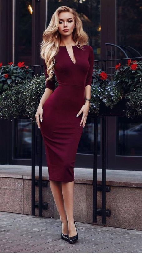 46++ Maroon dress outfits info
