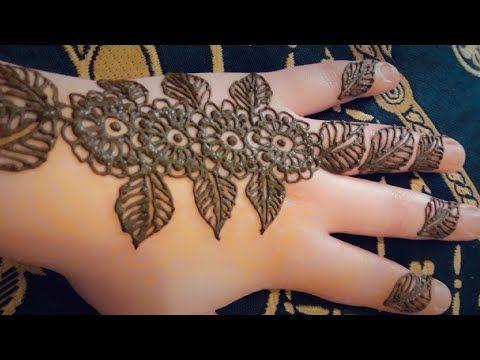 مهندي نقش الخطفة حناء تعليم النقش بالحناء نقش حناء بالإبرة سهل و بسيط Youtube Henna Designs Henna Hand Tattoo Hand Tattoos