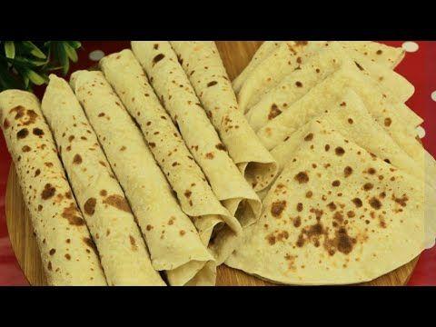 تورتيلا ب 3 مكونات فقط خبز شاورما خبز سندويشات مع رباح محمد الحلقة 697 Youtube Cooking Recipes Cooking Recipes