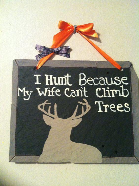 hunting sign hunting home decor yard sign deer sign
