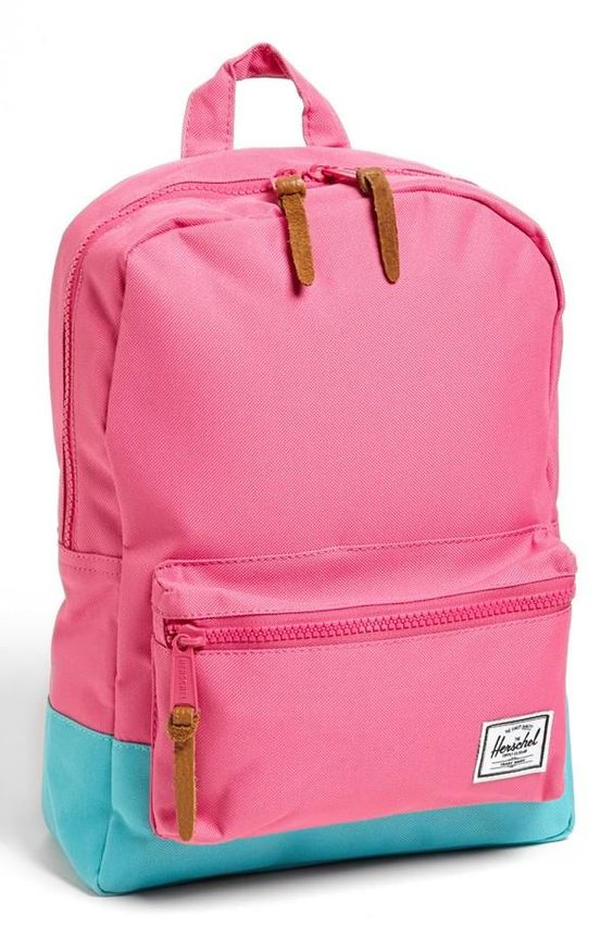 Cute pink Herschel backpack! | accessories | Pinterest | Chicas ...