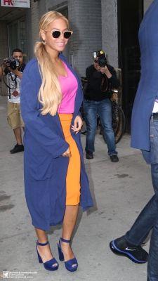 Beyoncé Arriving At SIR Studios In New York City 15.05.2015