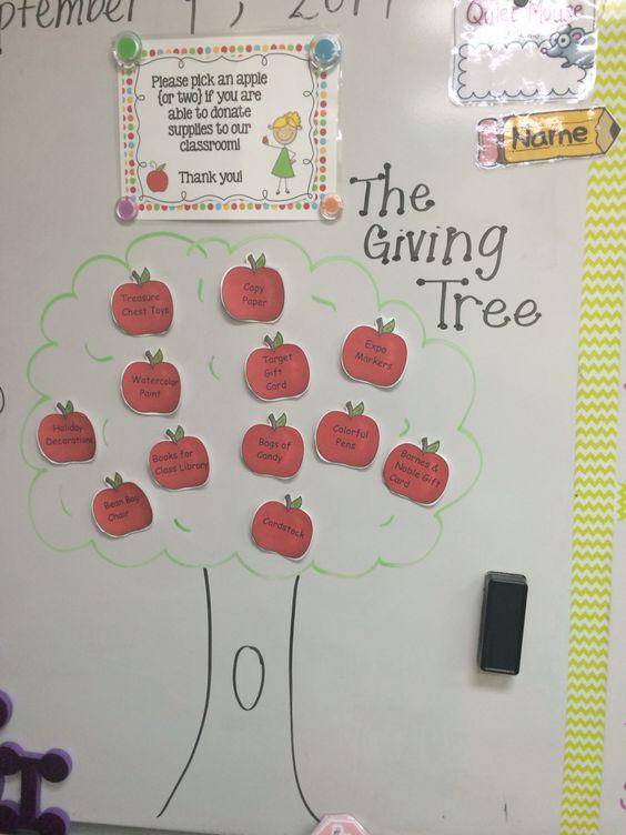 Classroom Giving Tree Ideas ~ Pinterest the world s catalog of ideas