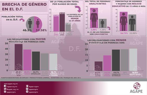 Brechas de género en el DF