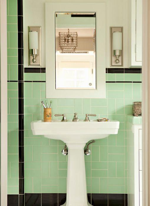 gult kakel badrum - Sök på Google | Badrum | Pinterest