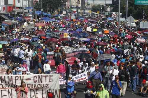 La CNTE estallará un paro indefinido en Oaxaca, Michoacán, Guerrero y Chiapas
