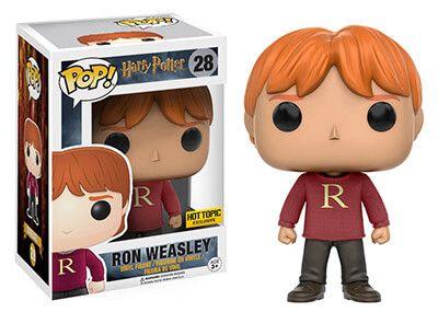 28 Ron Weasley R Jersey Funko Pop