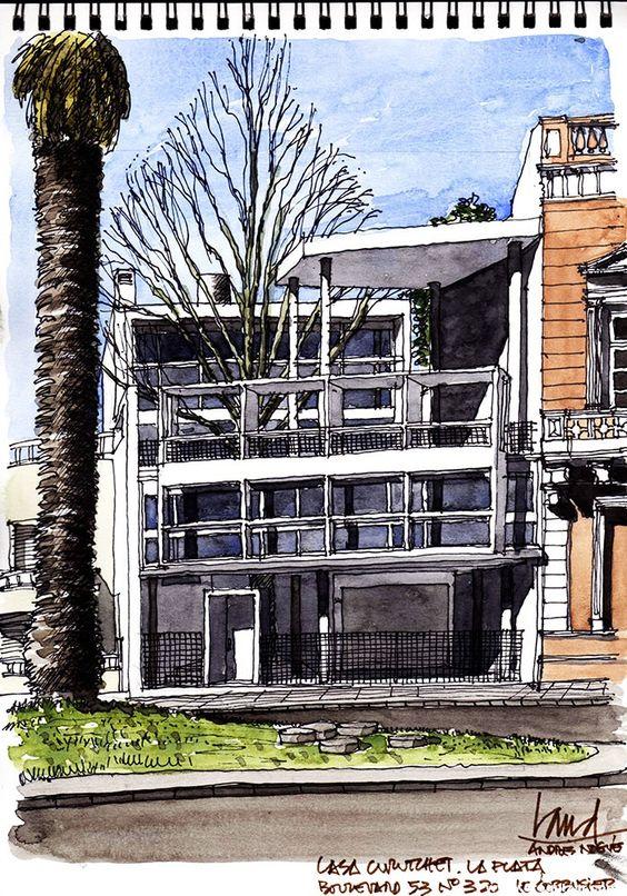 Casa Curutchet (Le Corbusier) – La plata, Argentina