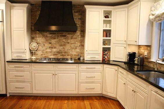 handmade thin brick backsplash kitchen backsplash thin genuine grey