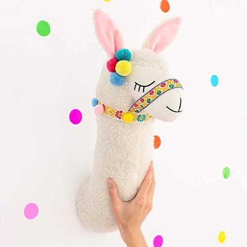 Buy Llama Head Wall Decor Stuffed Animal Head Wall Decor Nursery