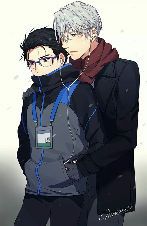 They are so cute  | #Yuri!!!OnIce #Viktuuri
