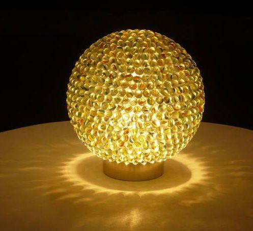 Lampara con canicas decoracion 04 lindas ideas - Decoracion con lamparas ...