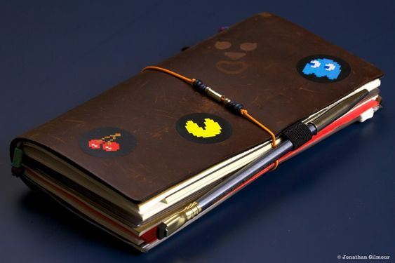 Review and tour of a Midori's Travellers Notebook. Love how many little notebooks are inside