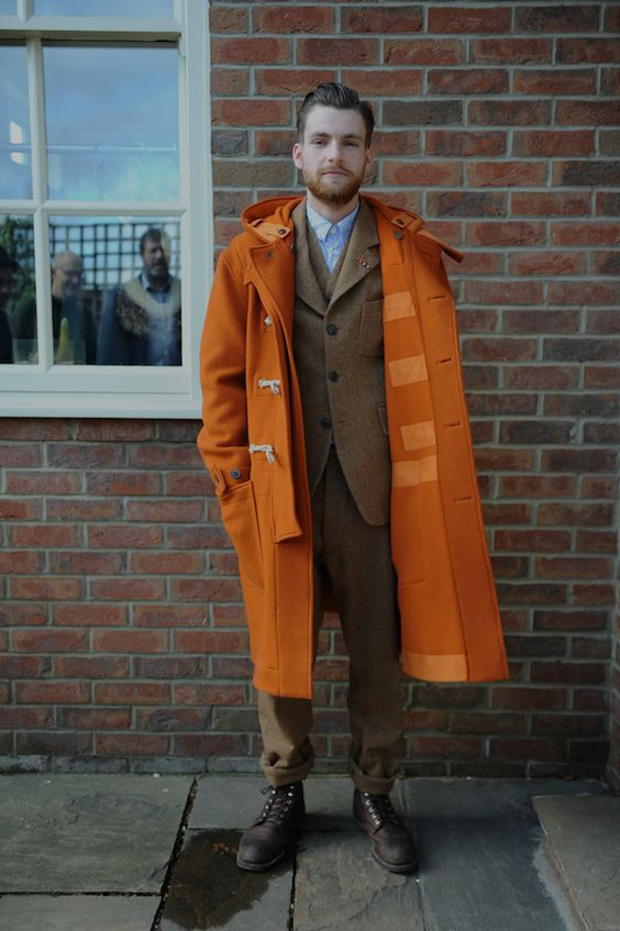 Duffle Coat With Suit