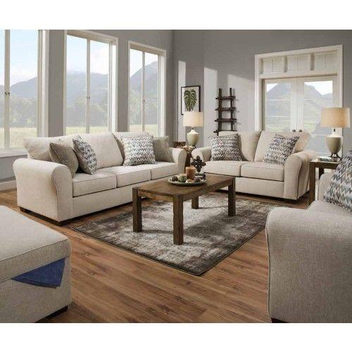 Simmons Upholstery Boston 3 Piece Living Room Set 1657 03 02