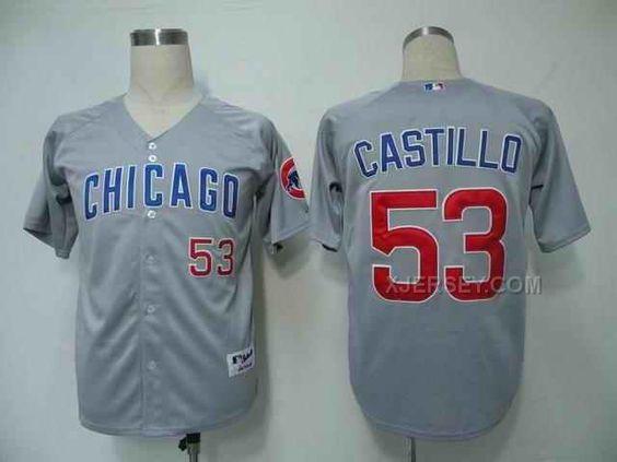 http://www.xjersey.com/cubs-53-castillo-grey-jersey.html Only$34.00 CUBS 53 CASTILLO GREY JERSEY Free Shipping!