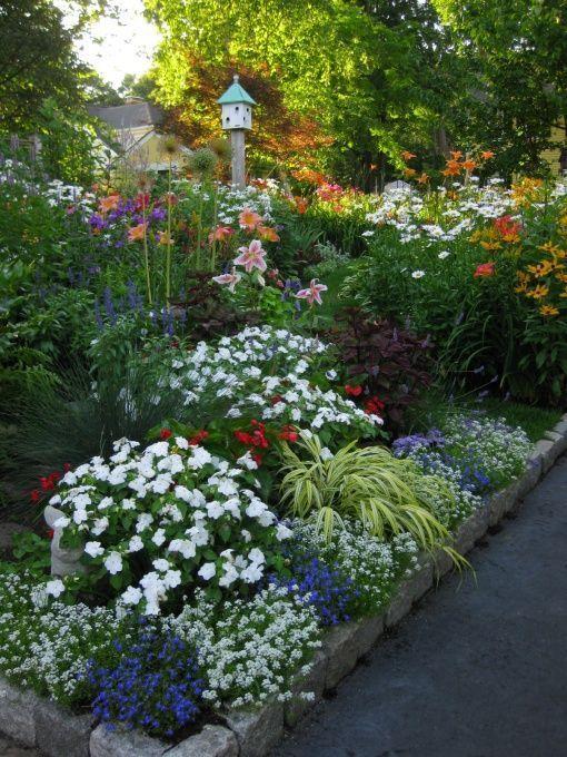 Pinterest Flower Gardens Visit Picklemedia1 Scrippsnetworks Com Cottage Garden Design Inspiration Beautiful