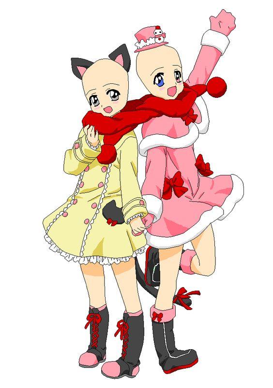 two sisters base by xXxYukihimebearxXx