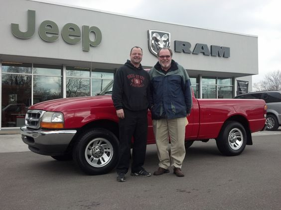 Here is Mark Ludmann with Sales Consultant Dennis Cain and his new 1999 Ford Ranger XL!  Mark was looking for just this kind of truck and we could deliver!  Congrats Mark!  Once again Zimmer makes the difference!  www.zimmermotors.com