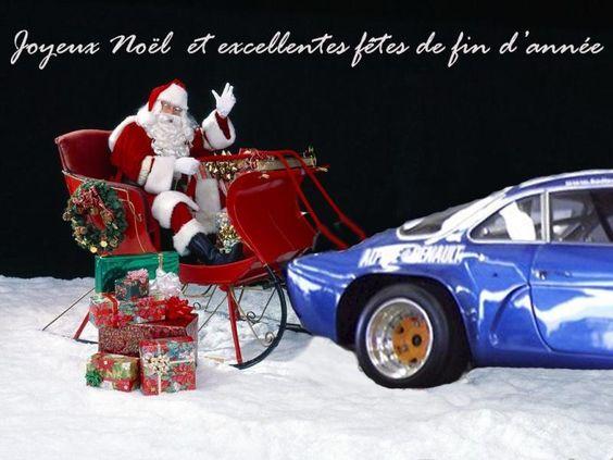 Photos de noel automobile à Hadol 88220 #automobile #voiture #noel #perenoel #quartierdesjantes