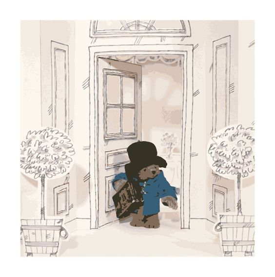 paddington bear wall art by walls 360 paddington bear in
