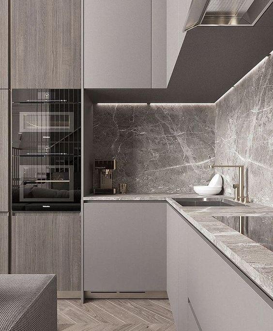 L Losning Kitchen Room Design Modern Kitchen Design Interior Design Kitchen