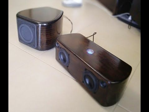 Diy Bluetooth Speaker With Subwoofer Drivers Dayton Audio Nd91 8 Tweeters Dayton Audio Diy Bluetooth Speaker Bluetooth Speakers Portable Subwoofer Amplifier