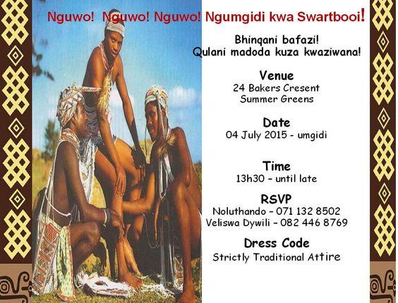 Umgidi Invitations Best Custom Invitation Template Ps Carrillo
