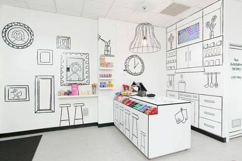 Tiendas creativas donde el producto pone el color #design #shop