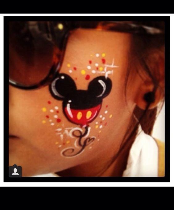 Disney Fun Face Painting Pinterest Disney Design