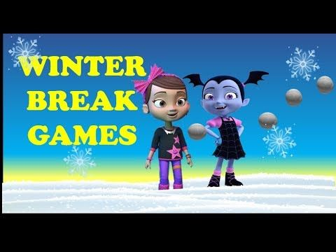 Vampirina Games | Winter Break | Disney Jr | Vampirina