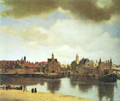 Jan Vermeer: Vista de Delft.