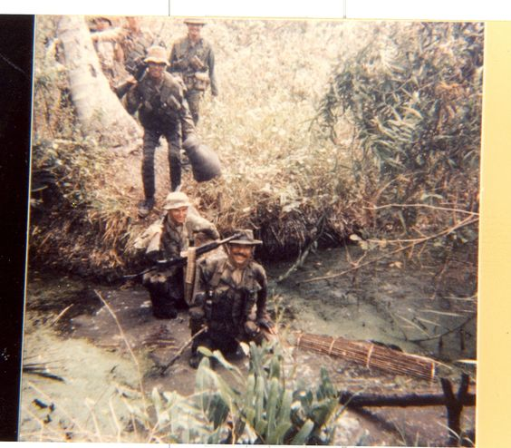 Navy Seals on patrol ~ Vietnam War