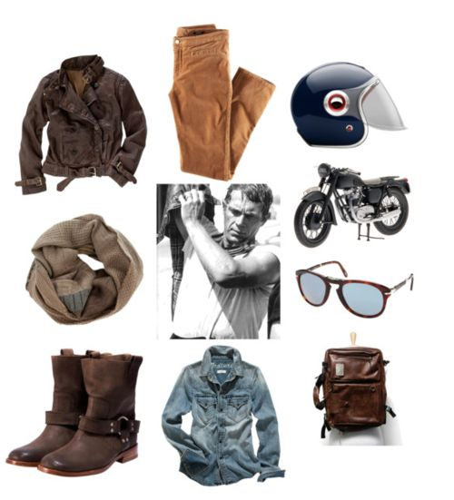 Motorcycles, Steve mcqueen style and Steve McQueen on ...