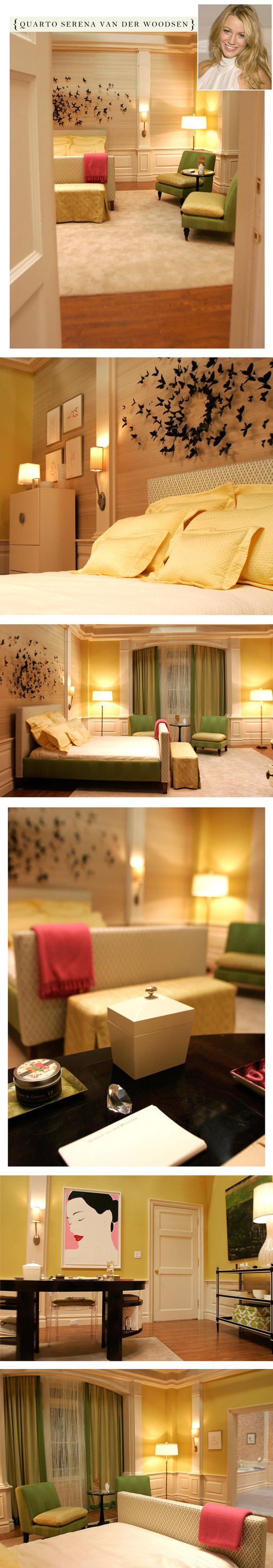 The sets on gossip girl girls blair waldorf and love the for Blair waldorf bedroom ideas