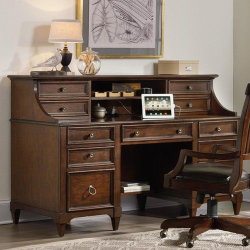 Desk Hutch Hooker Furniture And Credenzas On Pinterest