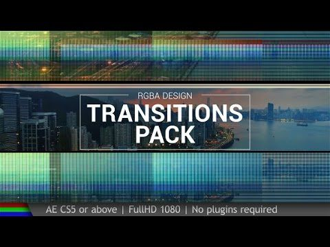 After Effect Template Free Transitions Pack After Effects After Effects Templates Template Free