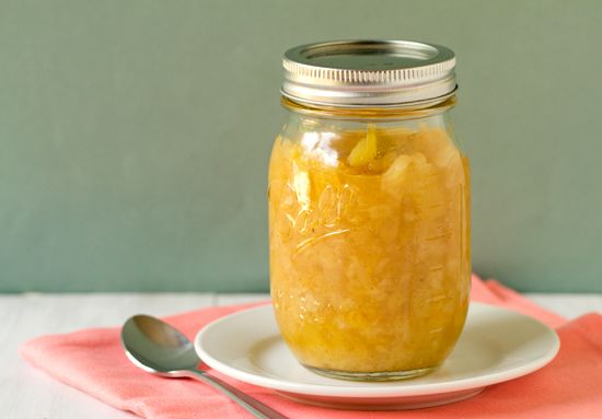 Homemade Pineapple Ice Cream Topping by Brown Eyed Baker: