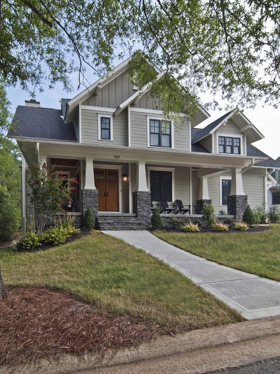 Exterior Meaning: Traditional Exterior Craftsman Style- This Is My Dream
