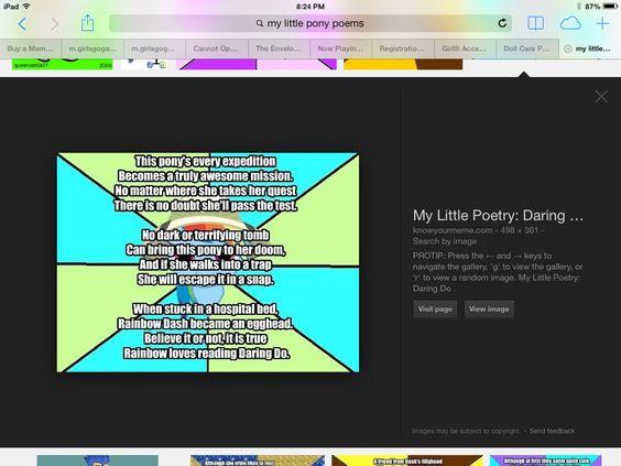 My little pony poem