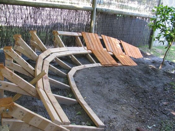 Backyard Wood Pump Track : Track, Pump and Search on Pinterest