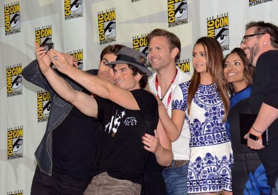Le casting de la série The Vampire Diaries