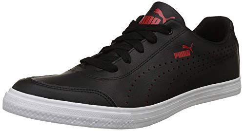 Puma Men S Black Ribbon Red Sneakers 10 Uk India 44 5 Eu